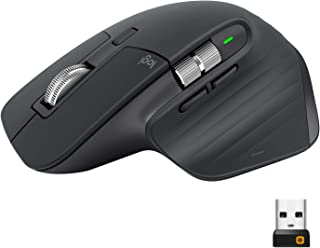 Logitech 罗技 MX Master 3 高级鼠标 - 商务版 [双连接,2.4GHz 和蓝牙] - 黑色