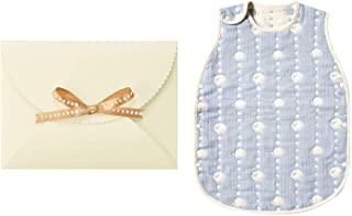 Hoppetta 10mois 6层透气纱布儿童睡衣睡袋 礼物套装 适合2-7岁 天蓝色 幼童 长度64厘米 18111042