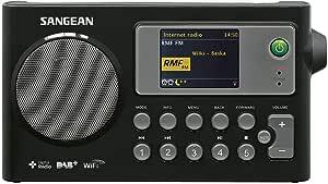 SANGEAN 山进 WFR-27C便携式收音机(数字音频广播(DAB),MP3,网络收音机)
