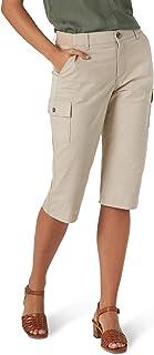 Lee 女士 Flex-to-Go Cargo Skimmer 七分裤, Oxford Tan, 2