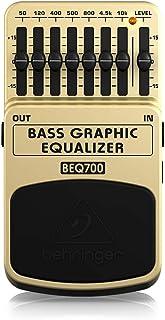 Behringer 百灵达 BEQ700 7 波段低音图形均衡器 适用于低音和键盘