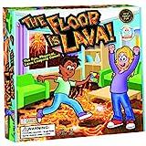The Floor is Lava! 儿童与成人(适合 5 岁以上)互动棋盘游戏趣味派对、生日和家庭游戏 — 促进体育活…
