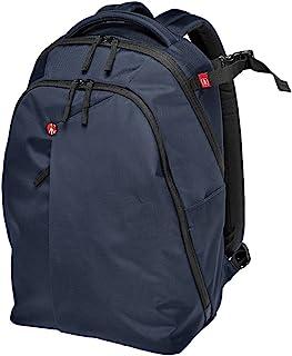 Manfrotto 曼富图 MB NX-BP-VBU 背包,适用于数码单反相机、笔记本电脑和个人装备(蓝色)