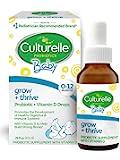 Culturelle 康萃乐 婴儿成长+维生素D滴剂-400 IU-30盎司/9ml