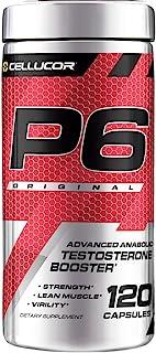 Cellucor P6 男士原始睾酮素,增强高级合成代谢力量,帮助肌肉更加精瘦,增强能量表现,增加对性的支持,120粒