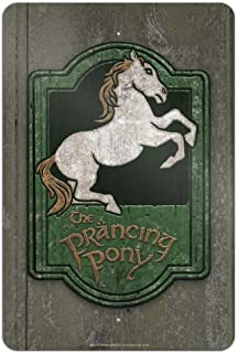 GRAPHICS & MORE Lord of The Rings The Prancing Pony 家庭商务办公室标牌