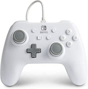 Nintendo Switch 有线PowerA控制器 - 白色 [ ]