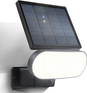 Wasserstein 2 合 1 太阳能电池板充电器和*灯兼容 Arlo Pro 3/Pro 4 和 Arlo Ultra/Ultra 2(黑色)(不兼容 Arlo Pro/Pro 2 和 Arlo Essential 聚光灯)