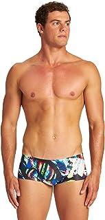 ARENA 男士 M 彩色绘画低腰短裤 游泳裤
