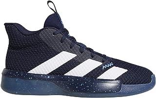 adidas Pro Next 2019 鞋子 - 男式篮球学院蓝/白色/亮蓝色