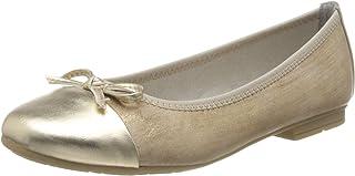 Jana * 舒适女式 8-22109-24 闭趾芭蕾平底鞋