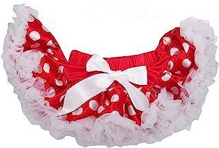 Kirei Sui 婴儿红色白色波尔卡圆点蓬裙白色