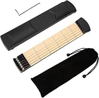 便携式 6 Fret 吉他,左手紧凑尺寸便携式吉他,适合专业吉他手