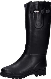 Aigle 女士 Aiglentine 皮鞋 橡胶靴