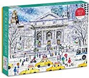 Galison Michael Storrings 纽约公共图书馆 1000 片拼图,多色