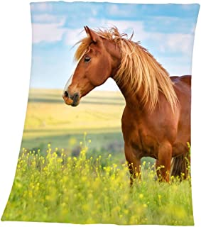 herding ' s Young 系列 HORSES 羊毛毛毯超细纤维 multi-colour 160x 130x 0.5cm