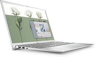 2021 *新旗舰戴尔灵越 5000 系列 5502 15.6 英寸全高清笔记本电脑 * 11 代 Intel 四核 i7-1165G7 8GB RAM 256GB SSD 背光键盘 FP 读卡器 网络摄像头 USB-C Windows 10 银色