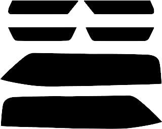 NDRUSH 遮光尾灯乙烯基贴膜侧标灯包装灯贴纸兼容 2014 2015 雪佛兰科迈罗