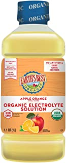 Earth's Best 补充电解质饮品,苹果橙子,1 升(4件装)