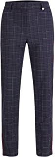 GOLFINO Club Checked 7/8 长裤(弹力)女式高尔夫裤