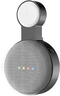 Baaletc 插座壁挂式支架挂钩适用于 Google Nest 迷你语音助理紧凑支架保护套插入厨房浴室卧室隐藏谷歌Nest 迷你线