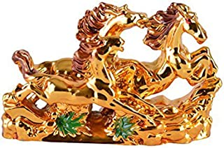 Odishabazaar Feng Shui 三匹金跑马 适合维多利亚、火焰和运气