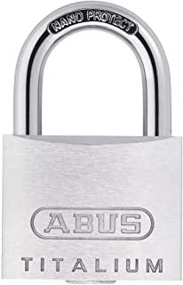 ABUS AB64TI/50 挂锁,灰色