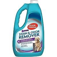Simple Solution 宠物污渍和*剂   酶清洁剂带 2X 专业*清洁剂 128 oz Refill