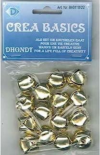 Unicraft 铃铛,18毫米,黄铜,15件,10袋,小号,套装