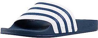 adidas adilette 男式沙滩 & 游泳池 SHOES Blue/White/Blue Adilette