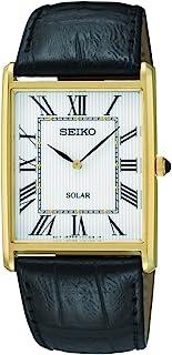 SEIKO 精工 男式 SUP880 模拟显示日本石英黑色手表