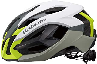 OGK kabuto 头盔 IZANAGI G-1亚光白黄色 XS/S