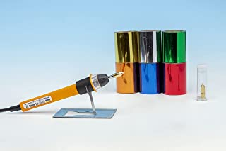 Modelcraft Art 热笔入门套件,带 6 个铝箔,黄色,0.5,1,2,2.5 毫米