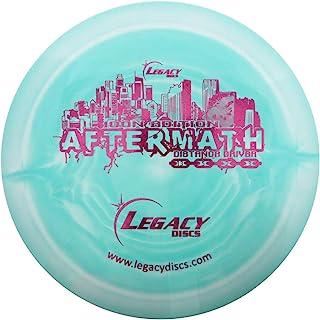 Legacy Discs Swirly Icon Aftermath Distance Driver 高尔夫飞盘 [颜色可能会有所不同]