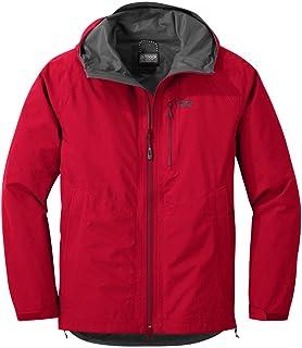 Outdoor Research 男士 Foray 轻质连帽可折叠防雨夹克