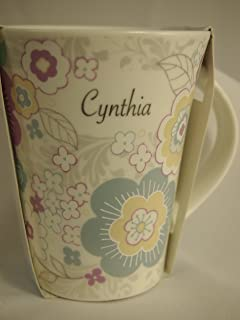 个性化女式马克杯 181000048 Cynthia 咖啡色,中号,多色
