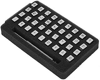 TOPINCN 金属大写字母印章套装 A-Z 字母打孔工具 定制字体字母冲压工具 高硬度 适用于模具珠宝制作模具(3.5 毫米)