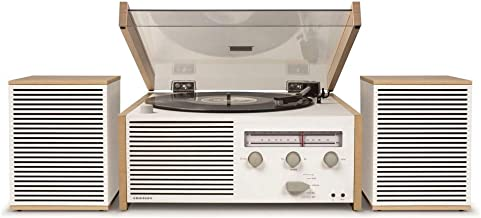 Crosley Switch II 藍牙電唱機 復古設計 帶FM / AM 收音機和外置揚聲器