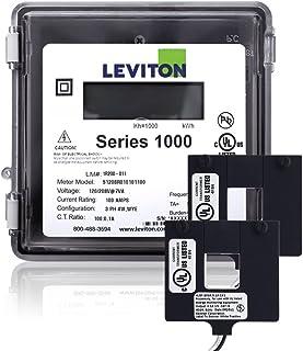 Leviton 1O240-2W 系列 1000 120/240V 200A 1P3W 室外套件,带 2 个分叉核心 CTs