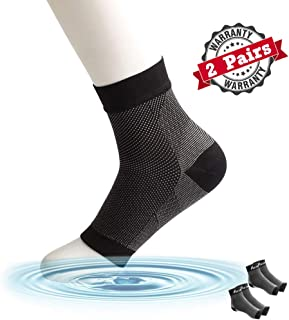 Portzon 足底*袜带足弓支撑,*护理压缩袖,缓解*和脚跟*,护踝支撑,快速缓解*