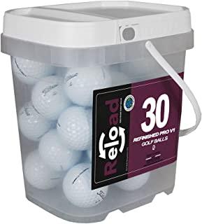 Titleist Reload 再生高尔夫球 Pro v1 翻新高尔夫球(30 只装)