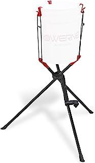 PowerNet 棒球垒球便携式桶式提篮 | 在训练和训练时使用 | 节省您的背部不再弯曲 | 可容纳 2-6 加仑桶 | 瞬间安装