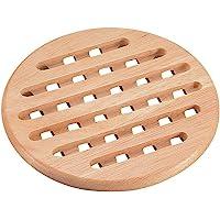 PEARL METAL 珍珠金属 木制 锅垫 圆形 Flex H-3658