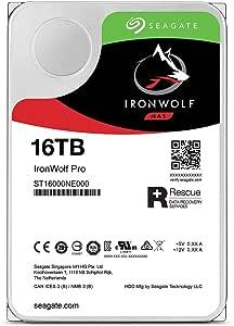 Seagate IronWolfST16000NE000 データ復旧付きNAS向けHDD HDD : 16TB