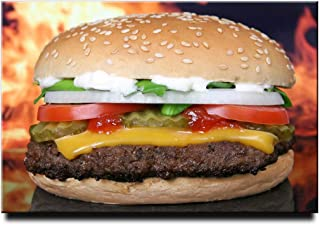Burger Cheeseburger Food Fastfood 冰箱贴