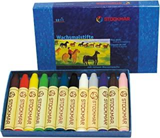 Schtkmer 蜜蜡笔 蜡笔 12色 纸箱 ST31202 [日本正品]