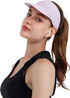 2 件帽子适合女士男士高尔夫遮阳帽速干帽运动网球帽 - 女式轻质扎染遮阳帽
