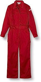 [フォーキャスト] つなぎ 作業服 すっきりシルエット 長袖 67999 レディース