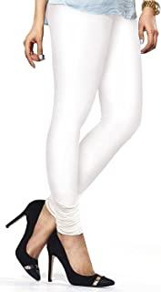 ladyline 女式长高级棉质打底裤带两个 stitches 均码 upto XL 紧身长裤和风格 yoga 健身
