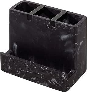 InterDesign Dakota 浴室梳妆台 黑色 黑色大理石 28257